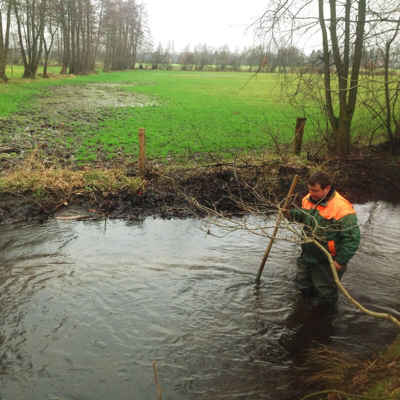 Gewässerunterhaltung Rietberg