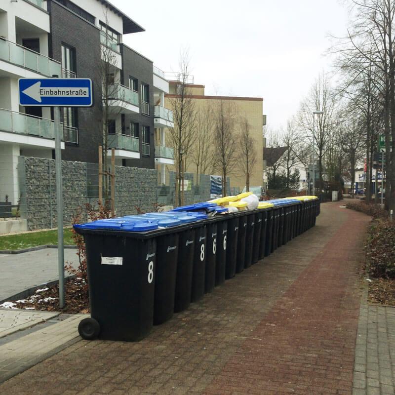 Mülleimer-Service