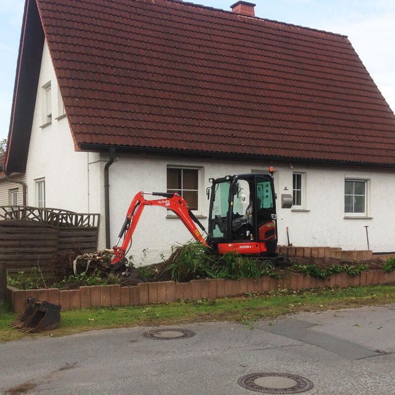 Baggerarbeiten Hövelhof