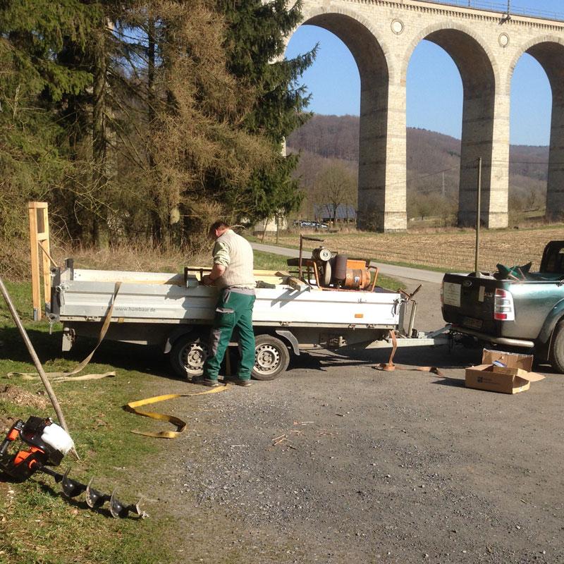 Beschilderung Viaduktwanderweg Altenbeken
