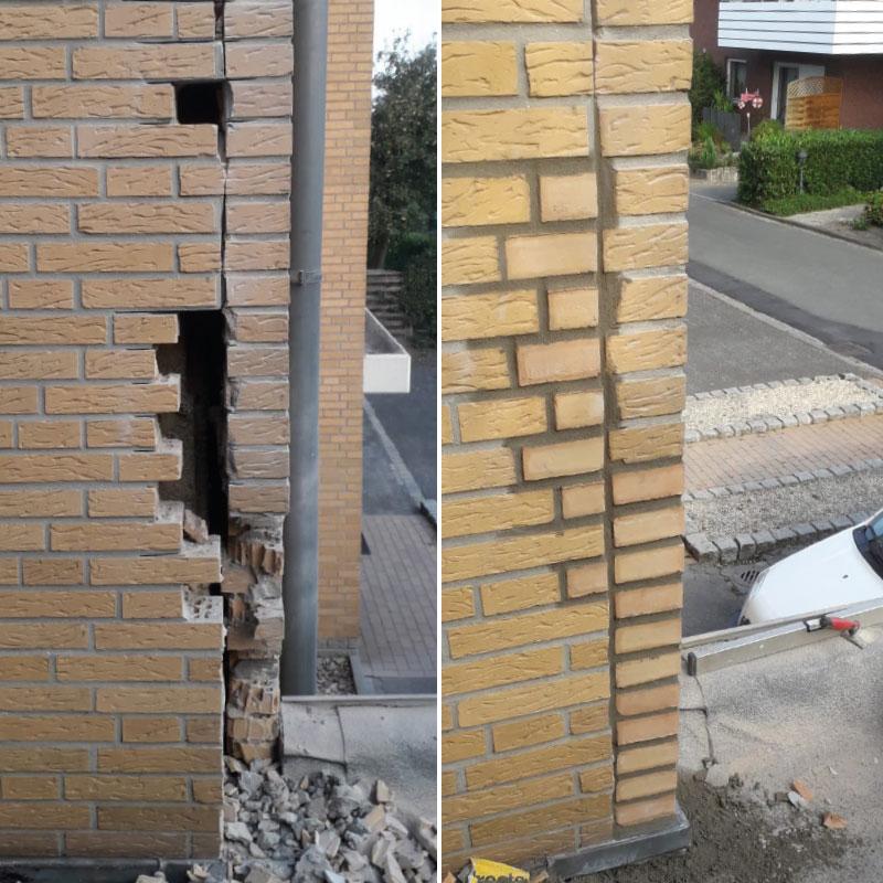 Ausbesserung Mauerwerk